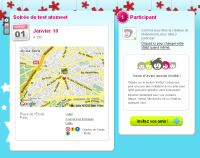 interface du site atomeet