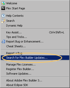Step 3. I configured flex builder eclipse plugin in linux and I can able to